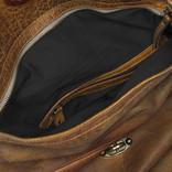 Justified Bags® - Sakura - Rugzak - Handtas - Shopper - Leer - Cognac