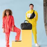 Justified Bags® - Mercure - Weekendtas - Reistas - Laptopvak - Leer - Zwart