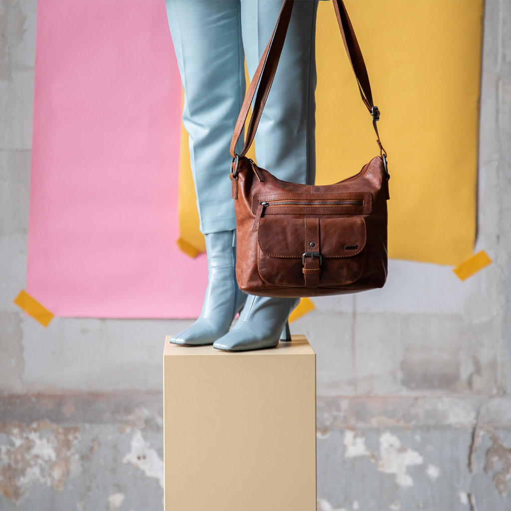 Justified Bags®  Nynke Shoulderbag Cognac