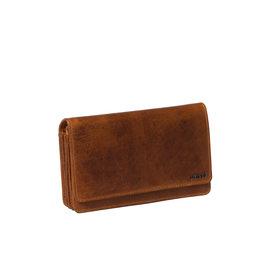 Justified Bags® Nynke - Wallet - Leather - Cognac