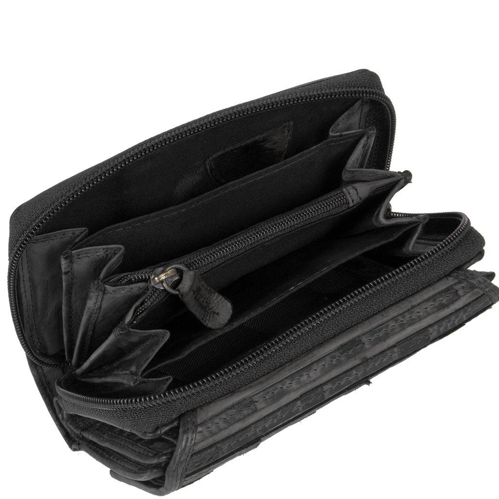 Chantal Wallet Compartments Black