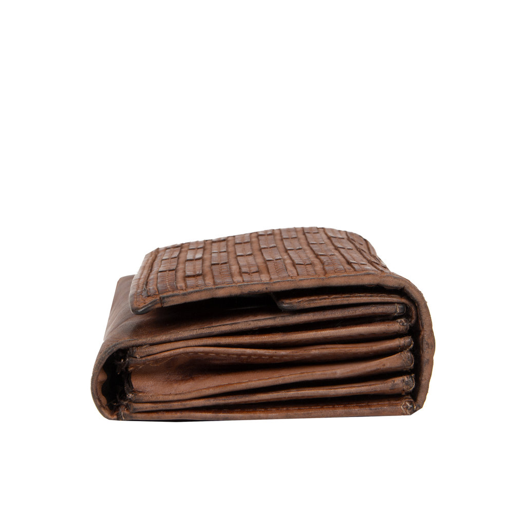 Chantal Wallet Compartments Brown