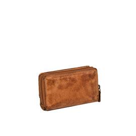 Justified Bags® Chantal - Wallet - Leather - Cognac