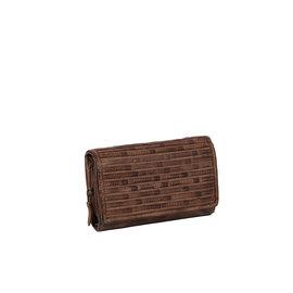 Justified Bags® Chantal - Wallet - Leather - Brown