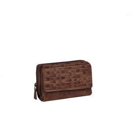Justified Bags® Chantal - Wallet - Leather - Small - Brown