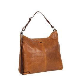 Justified Bags® Dyon - Shopper - Handbag - Schoolbag - Leather - Cognac