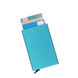 Justified Basic Creditcardhouder / RFID Card Protector Soft Blue