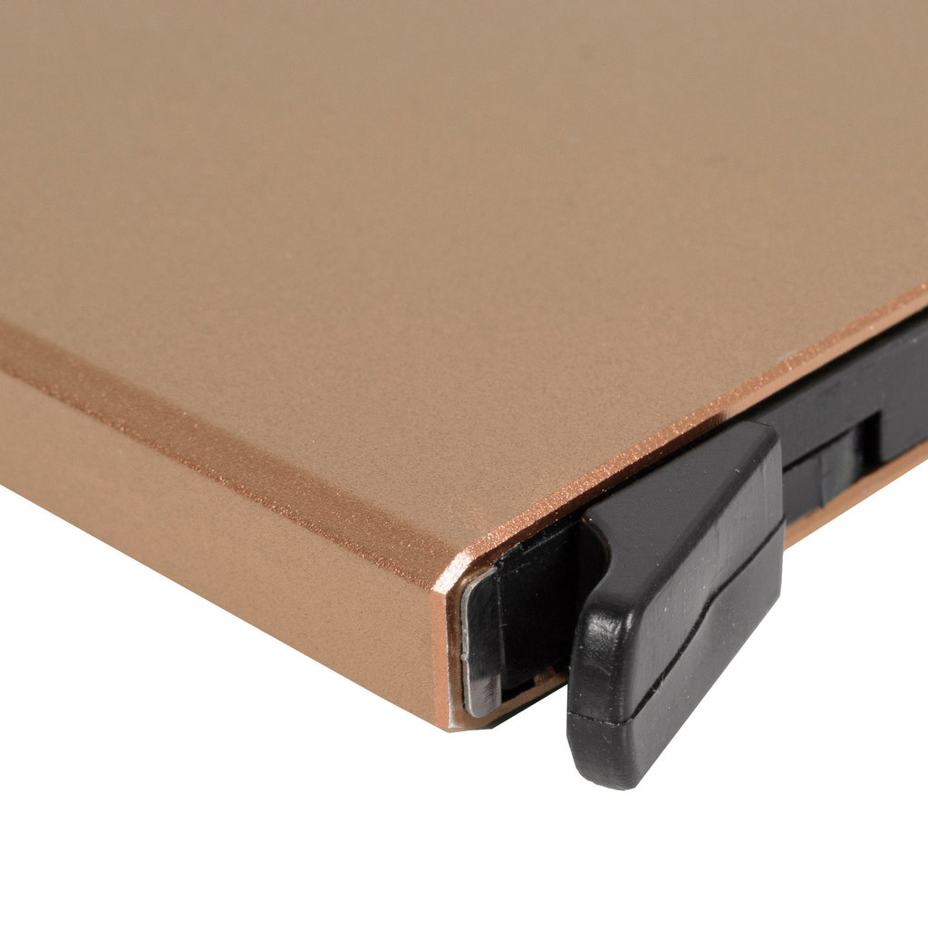 Justified Bags® Basic Creditcardhouder / RFID Card Protector Copper