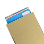 Justified Bags® Basic Creditcardhouder / RFID Card Protector Gold / Sand
