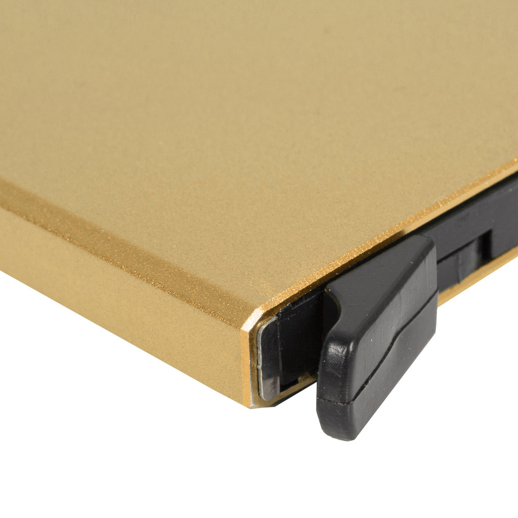 Justified Basic Creditcardhouder / RFID Card Protector Gold / Sand