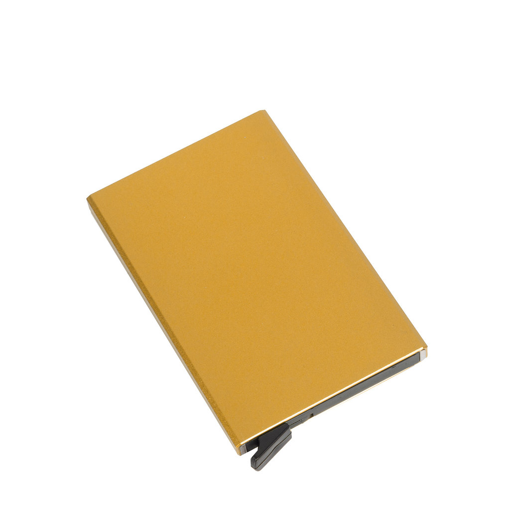 Justified® Basic - Creditcard Holder - RFID - Card Protector - Gold