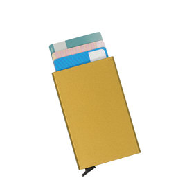 Justified Basic Creditcardhouder / RFID Card Protector Gold