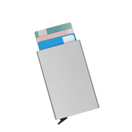 Justified Basic Creditcardhouder / RFID Card Protector grey/silver