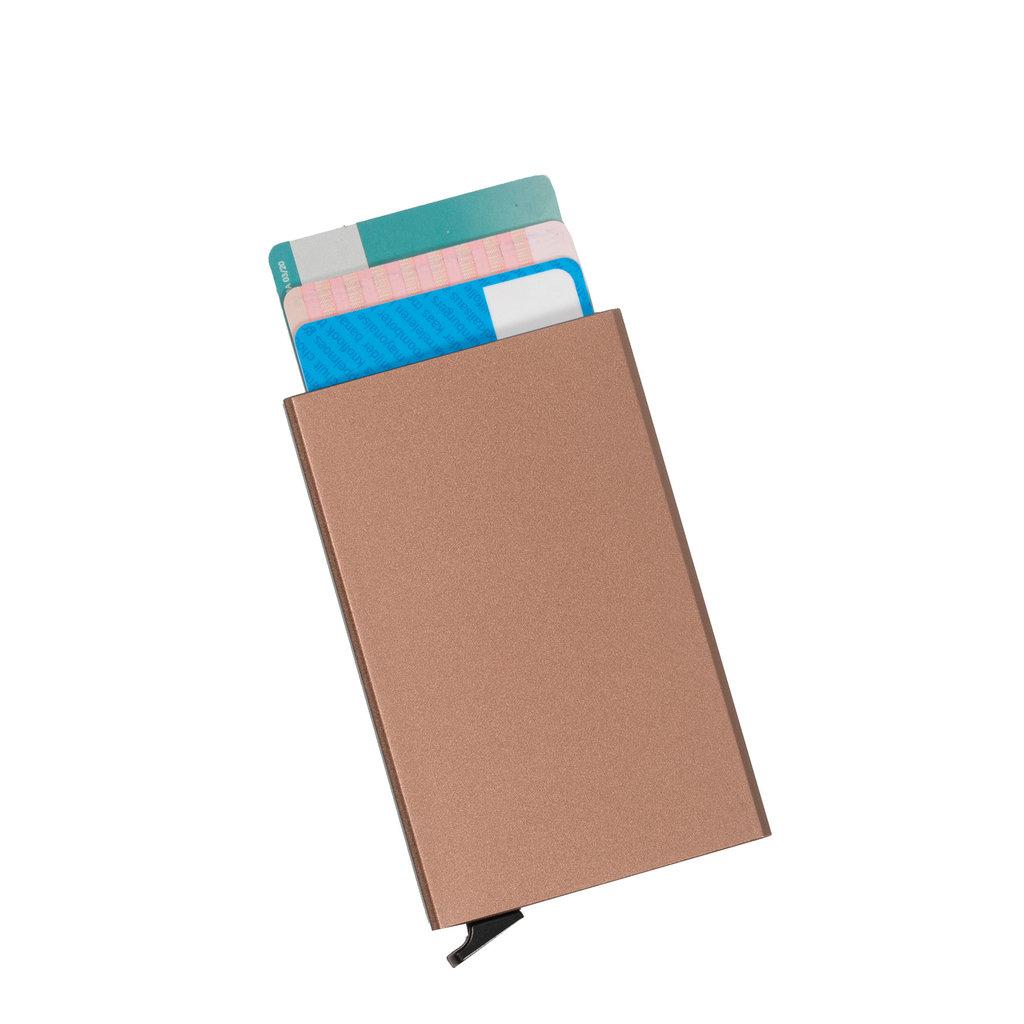 Justified® Basic - Creditcardhouder - RFID - Card Protector - Rose