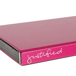 Justified Basic Creditcardhouder / RFID Card Protector Fuchsia