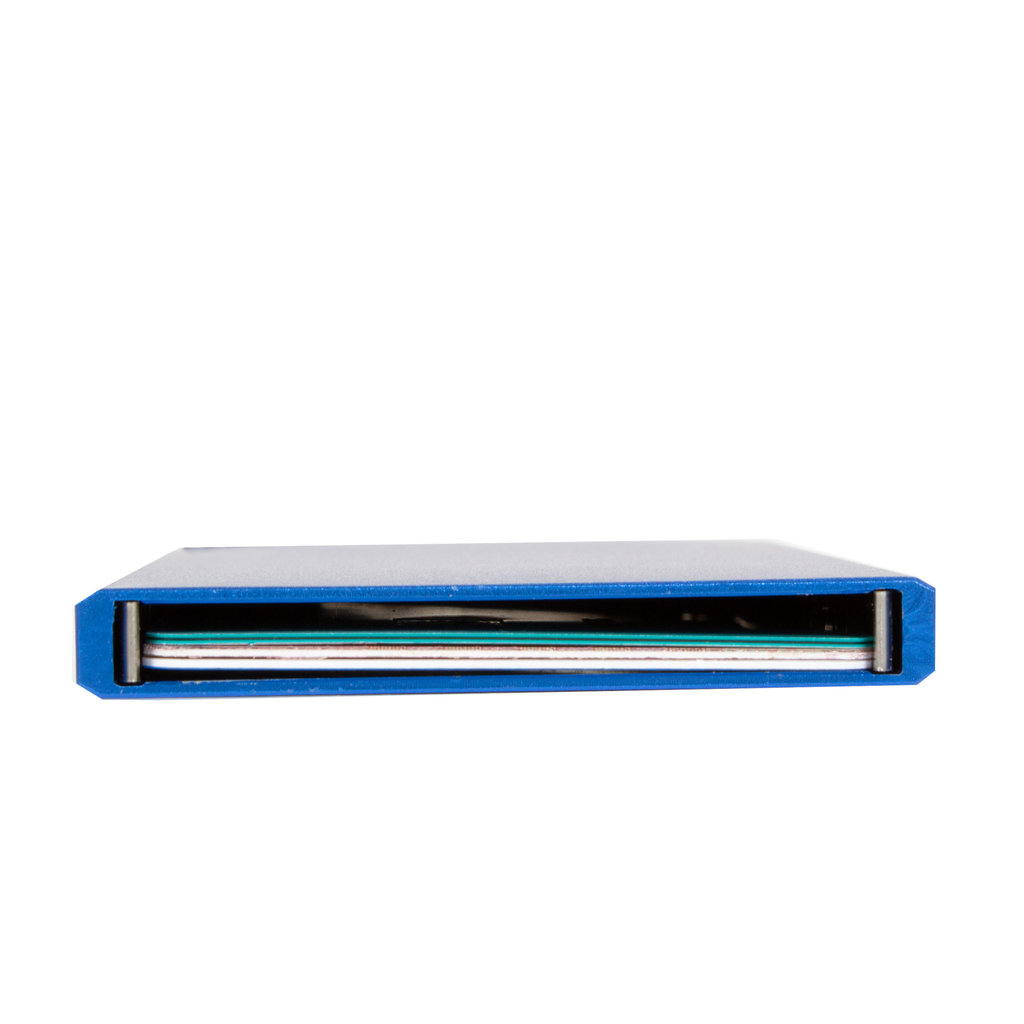 Justified® Basic - Creditcard Holder - RFID - Card Protector - Blue