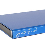 Justified Bags® Basic - Creditcard Holder - RFID - Card Protector - Blue