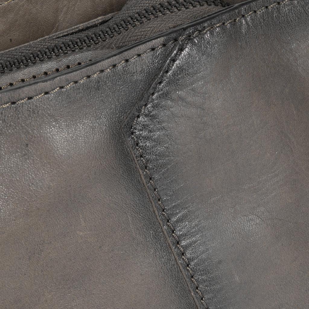 Pluto Flamed Shoulderbag Grey