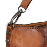 Justified Bags® Pluto Flamed Shouldertas Cognac