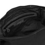 Justified Bags®  Kailash - Bannana - Shoulder bag- 34x8x25cm - Black