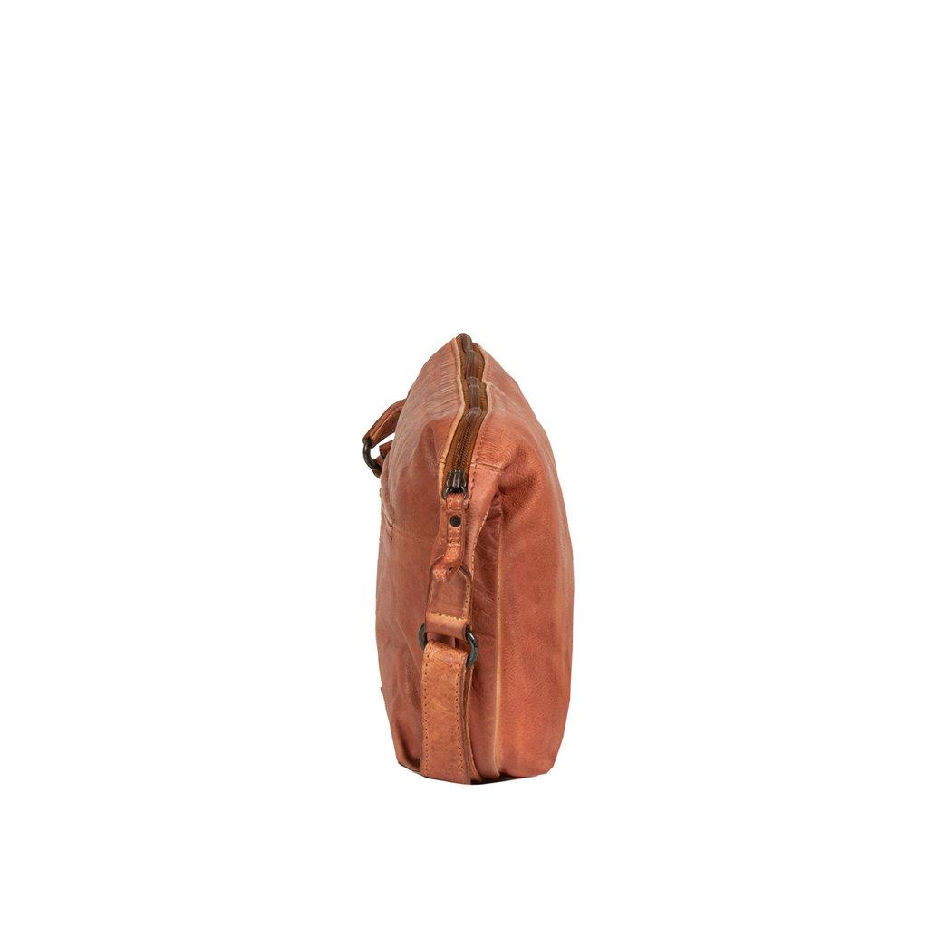 Kailash bannana shoulderbag cognac