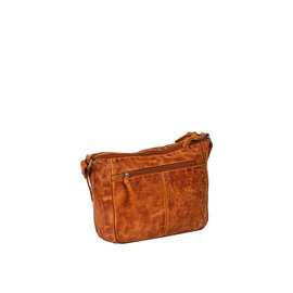 Justified Bags® Roma Big Top Zip Cognac
