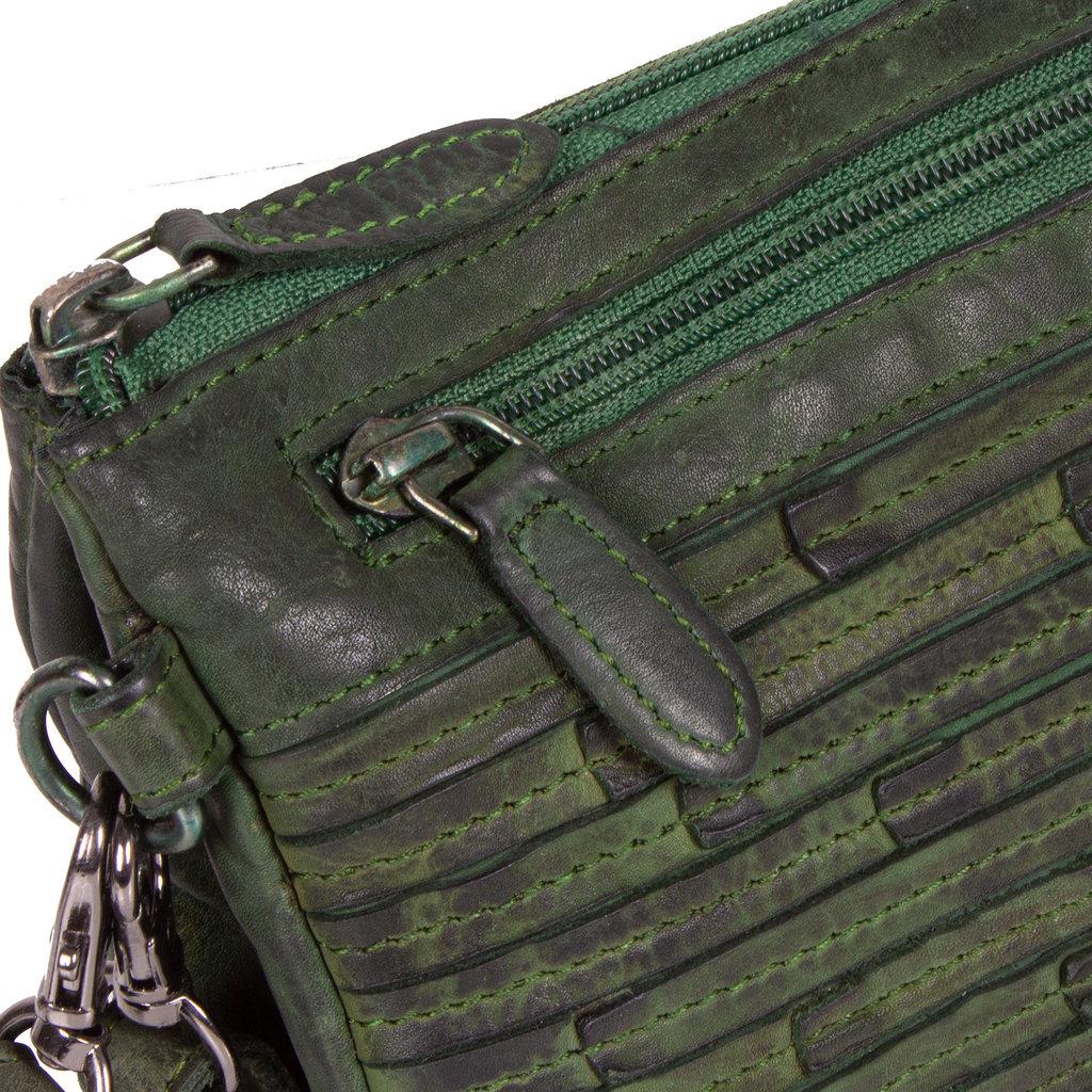 Chantal Evening Bag Dark Green