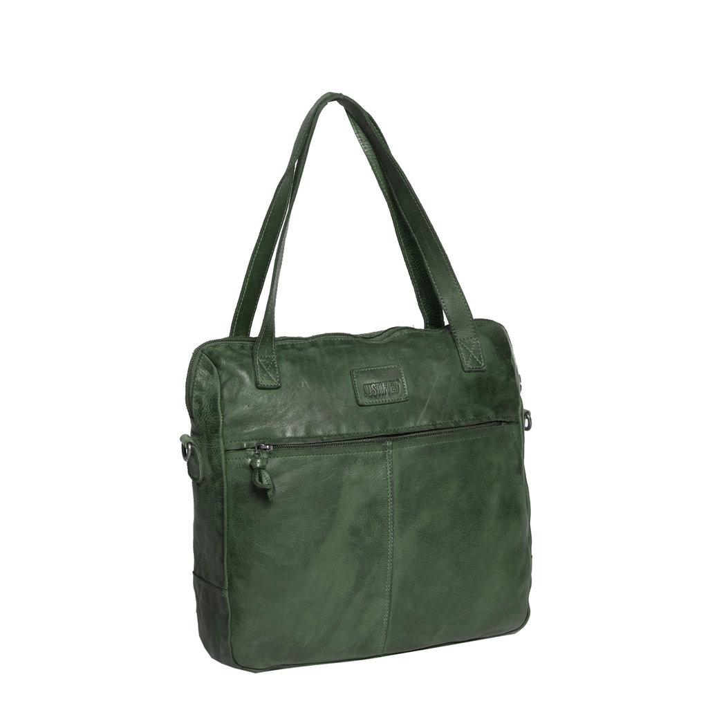 Chantal Shopper Small Dark Green