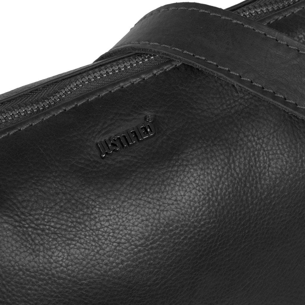 Justified Bags® Nynke Square Shoulderbag Black