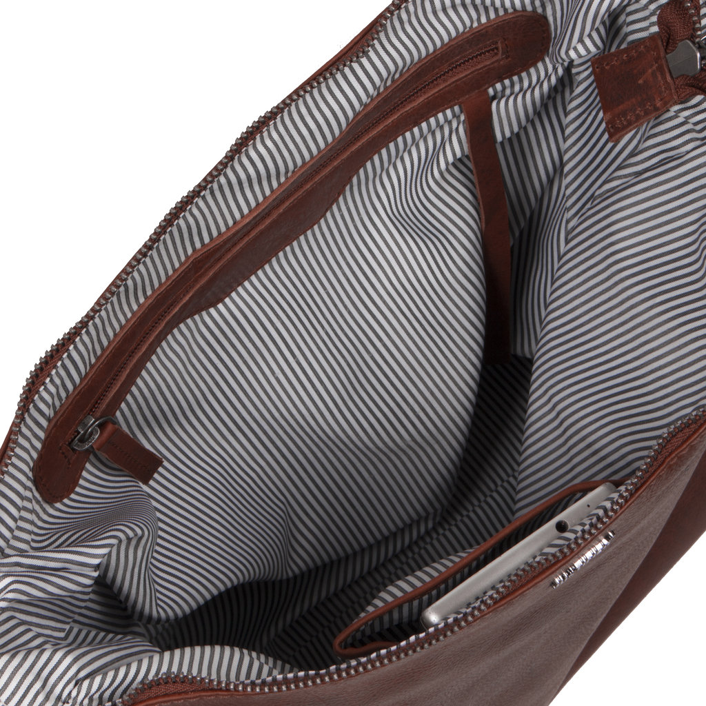 Justified Bags® Nynke Square Shoulderbag Brown