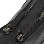 Justified Bags® Nynke Double Top Zip Shoulderbag Black