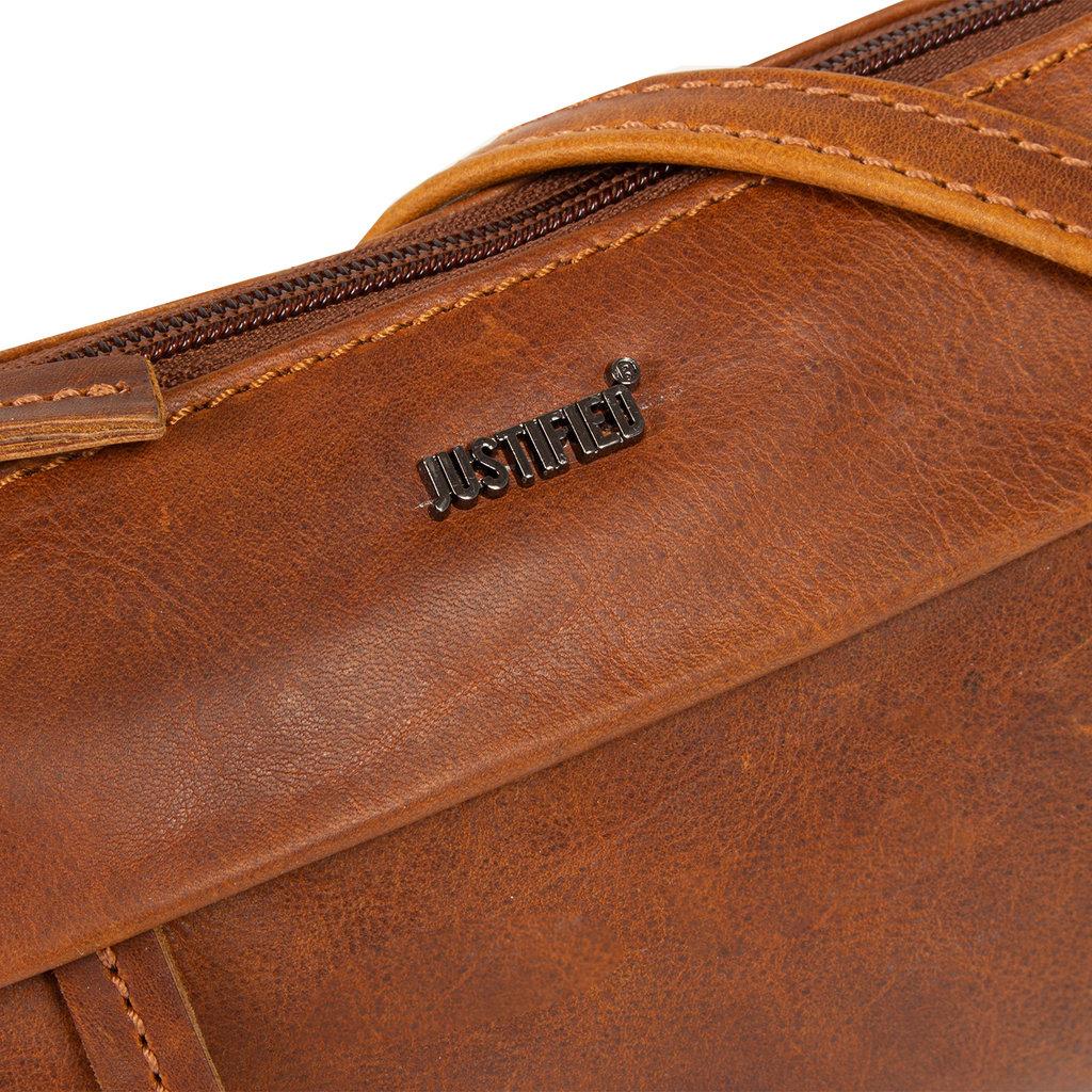 Justified Bags®  Nynke Small Folded Shoulderbag Cognac