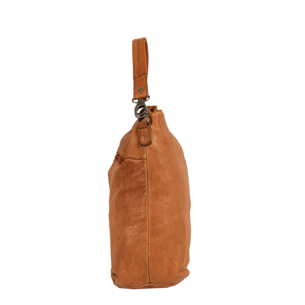 Saira Big Shoulderbag Tote Cognac VII