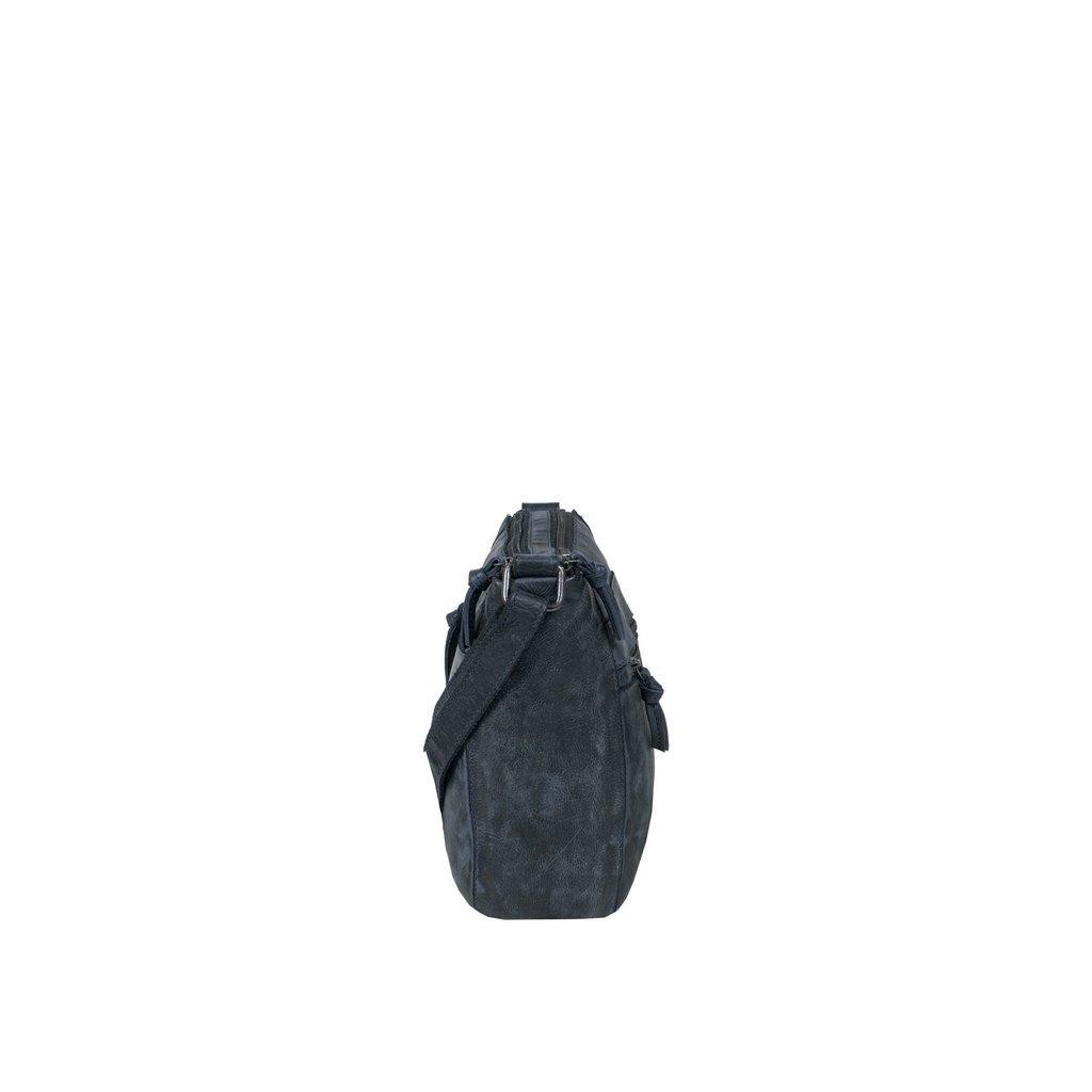 Justified Bags® Roma Big Top Zip Navy