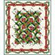 Benartex A Poinsettia Winter - Jason Yenter