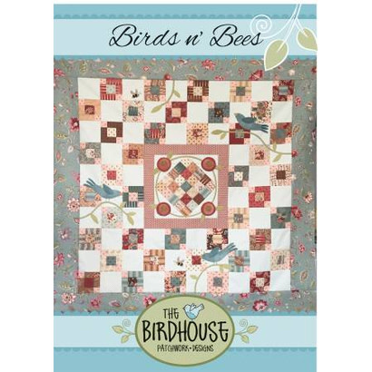 TheBirdhouse Birds n' Bees Quilt Pattern