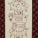 TheBirdhouse Deck the Halls (Pre-printed Fabric and Pattern)