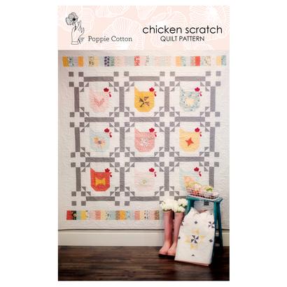 Chicken Scratch Quilt-Kit