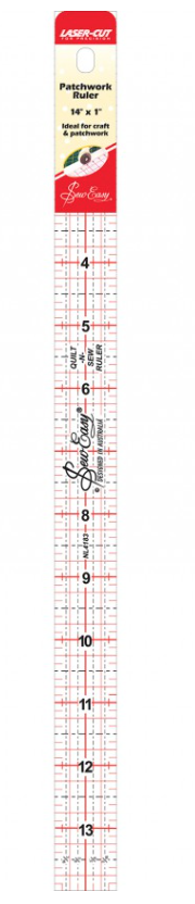14 x 1 inch Sew Easy ruler