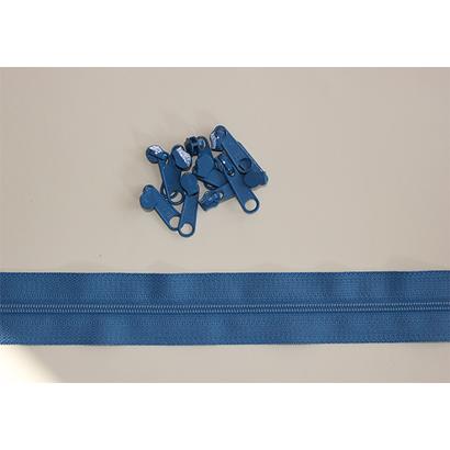 RinskeStevens Baggy Zipper Large - Oud Blauw