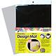 Design Mat zwart / grijs-A3 formaat