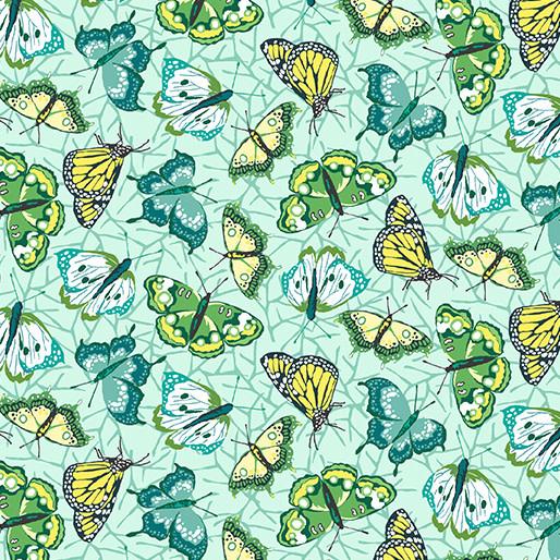 Contempo Butterflies Mint