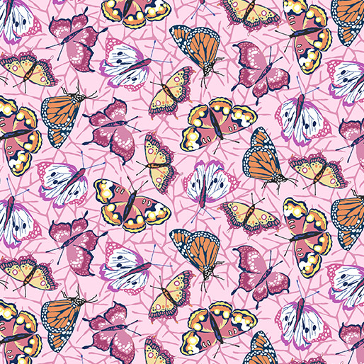 Contempo Butterflies Rose