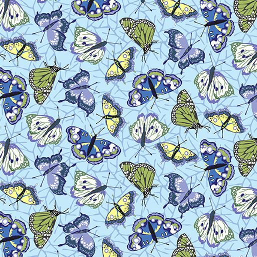 Contempo Butterflies Sky