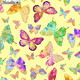 Kanvas Butterfly Wishes Yellow
