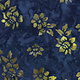 Bali Tropical garden - Small Flower Blue (55)