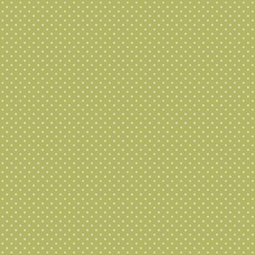 Benartex Butterfly Garden - Spring Dots Lime (7541)