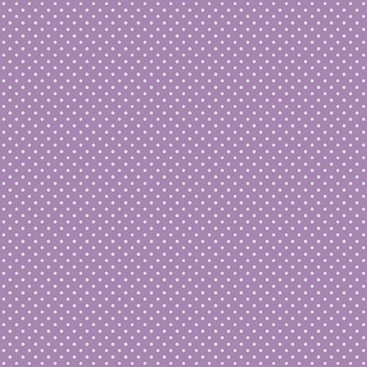 Benartex Butterfly Garden - Spring Dots Grape (7560)