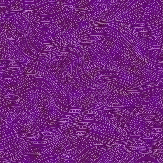 In the beginning Color Movement -paars violet