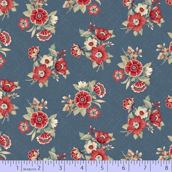 marcus fabrics Blue Meadow - 82121